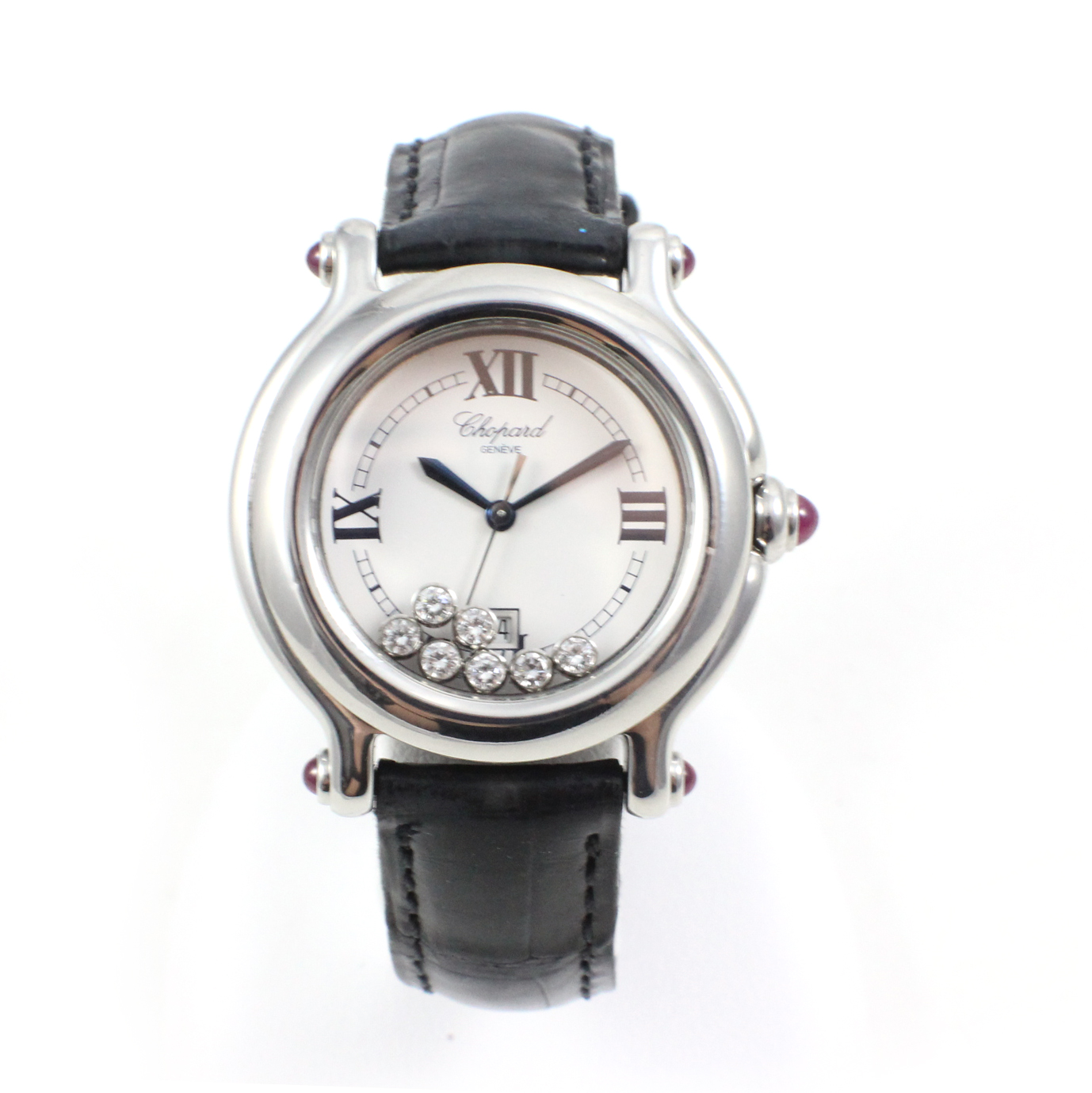 Leather-strap-chopard-fake-watches