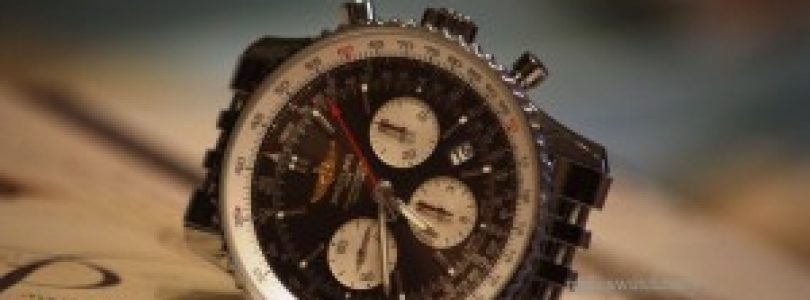 Testing the fake Breitling Navitimer 01 Black Leather Steel Watch For Mens