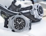 Cheap Replica Audemars Piguet Royal Oak Offshore Diver Black Dial Black Rubber Steel Watch