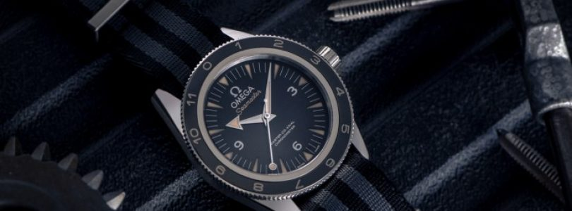 Cheap Omega Seamaster 300 Spectre Limited Edition Black Dial Steel Watch Replica