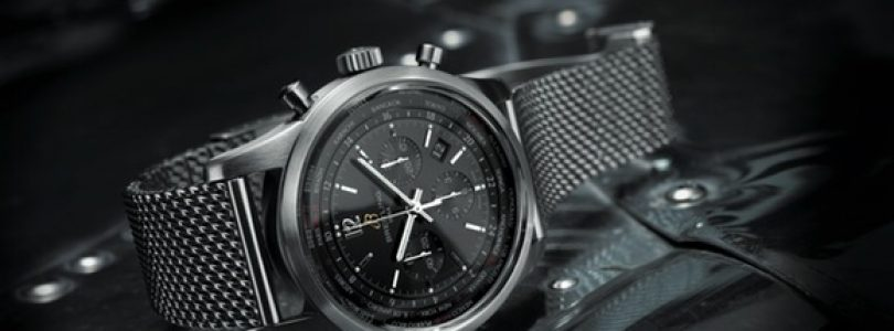 Introducing The Replica breitling transocean chronograph unitime pilot blacksteel watch