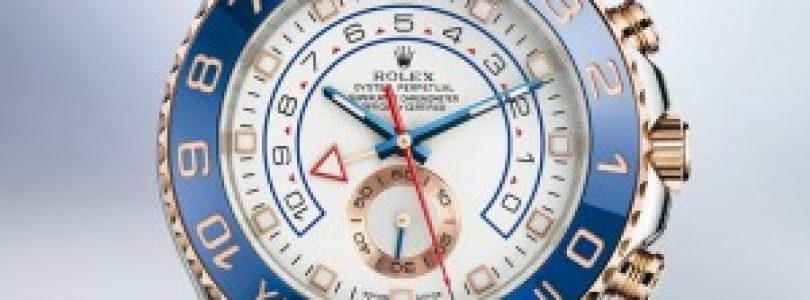 Special Replica Rolex Yacht-master II White Dial Blue Bezel Watches For Sale