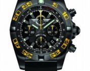 Cheap Replica Breitling Chronomat 44 Blacksteel Watch for Jet Team American Tour