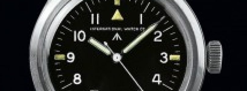 Flying Since 1948: The Replica IWC Pilot Mark XII Black Dial Steel Watch