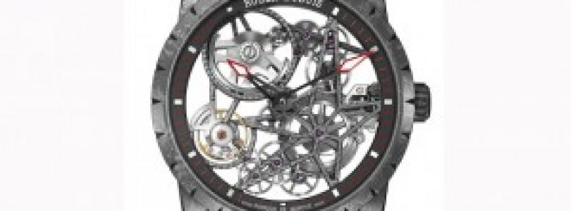 Replica Roger Dubuis Excalibur Automatic Skeleton Carbon 2016