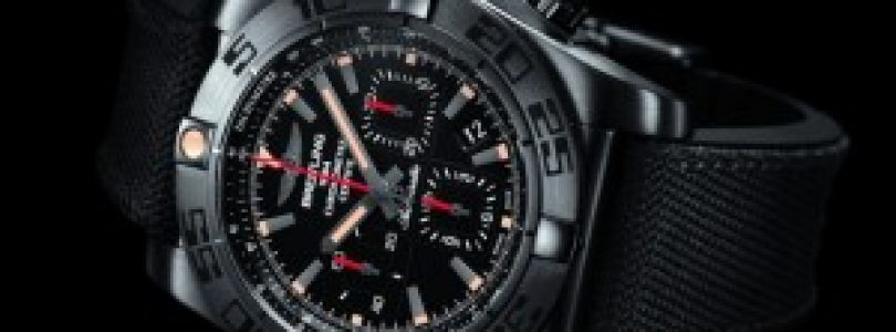 replica breitling chronomat gmt 44 black steel mens watch for sale
