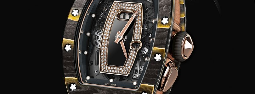 Replica Richard Mille Melds Carbon Composite with Gold Leaf Watches