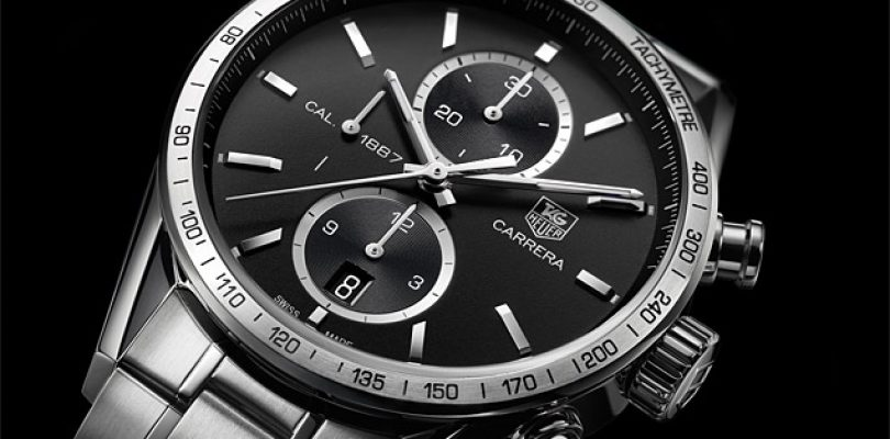 Best Replica tag heuer carrera calibre 1887 chronograph stainless steel black dial watches