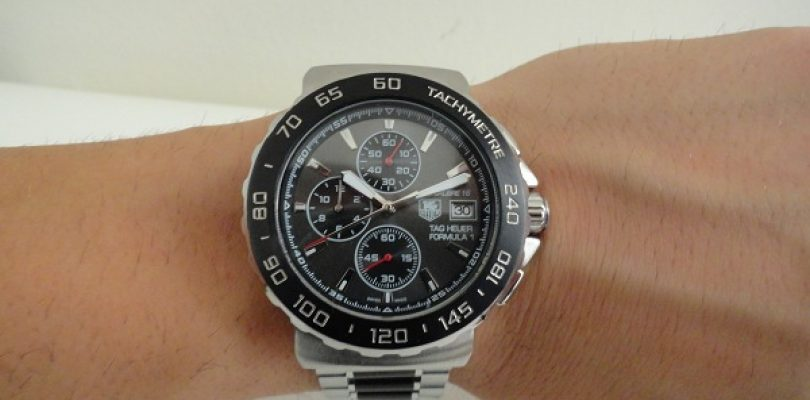 Best Tag Heuer Formula 1 Black Dial Stainless Steel Replica Watches