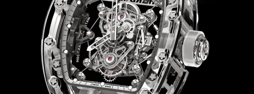Best Richard Mille RM 56-02 Sapphire Tourbillon Replica Watch