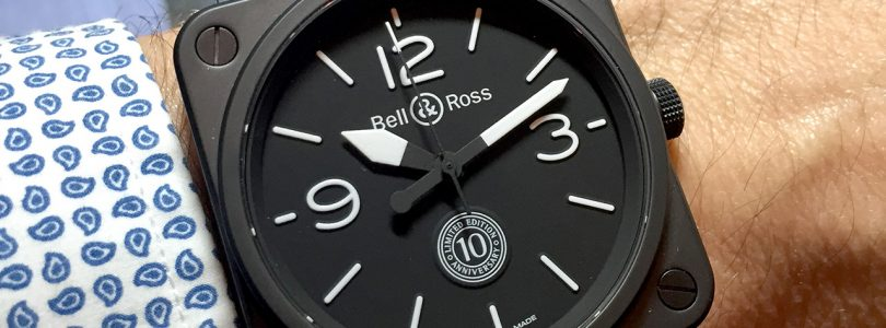 Best Replica Bell & Ross BR 01-92 Black Dial Black Rubber Watches