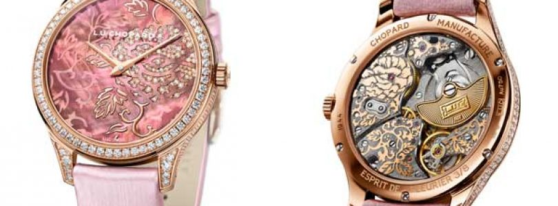 Replica Chopard L.U.C XP Pink Dial Pink Gold Watches