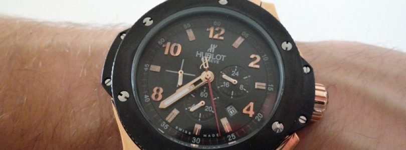 Replica Hublot Classic Fusion Black Dial Watches For Sale