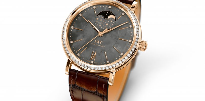 Best Replica IWC Portofino Moon Phase Rose Gold Watch For Sale