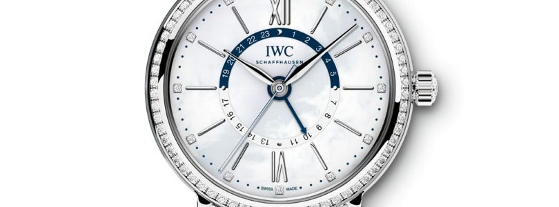 New Style Replica IWC Portofino Diamonds Bezel Steel Watch for Sale