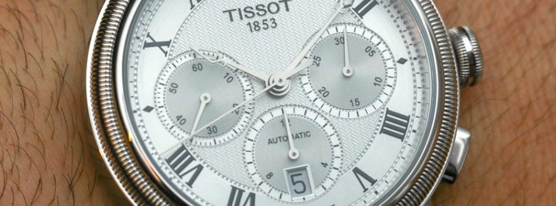 Stainless Steel Tissot Bridgeport Automatic Chronograph Replica Watch