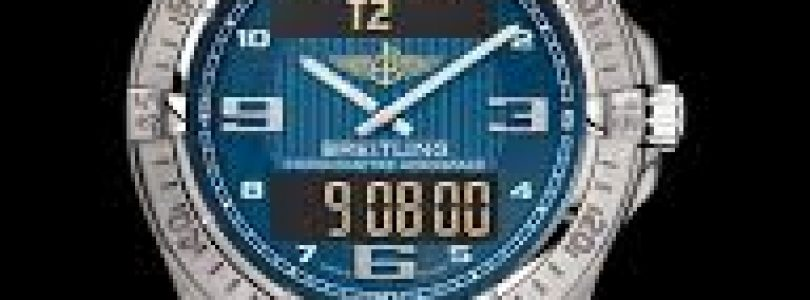 Breitling Professionnal Aerospace Blue Replica Watch