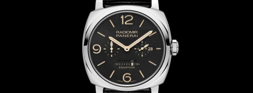 Panerai Radiomir 1940 Equation of Time 8 days