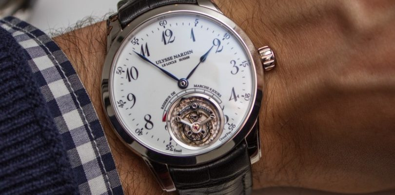 Ulysse Nardin Anchor Tourbillon Watch