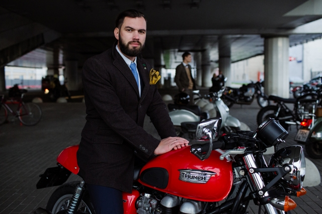 The Distinguished Gentleman's ride Edition 2017