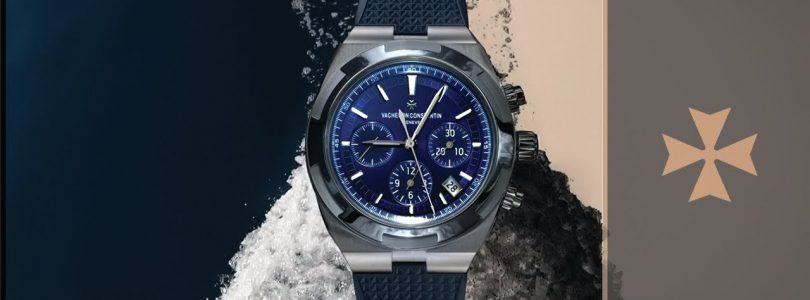 Vacheron Constantin – Overseas  Chronograph  Japanese Movement Replica