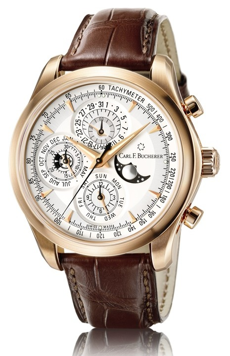 Carl F. Bucherer Manero ChronoPerpetual Watch Watch Releases