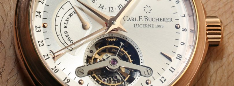 Carl F. Bucherer Manero Tourbillon Watch Hands-On Hands-On