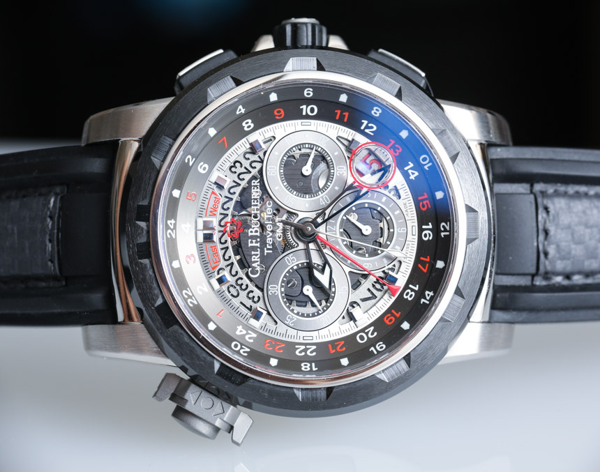 Carl F. Bucherer Patravi TravelTec GMT FourX Watch Review Wrist Time Reviews