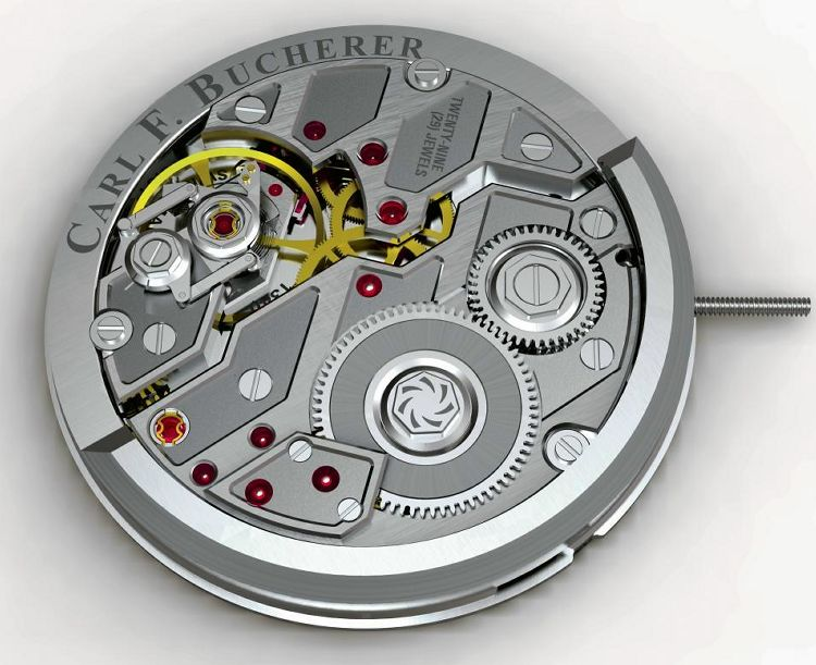 The Techy & Innovative Automatic Caliber CFB A1000 Watch Movement From Carl F. Bucherer Manero Flyback Replica Watch Releases