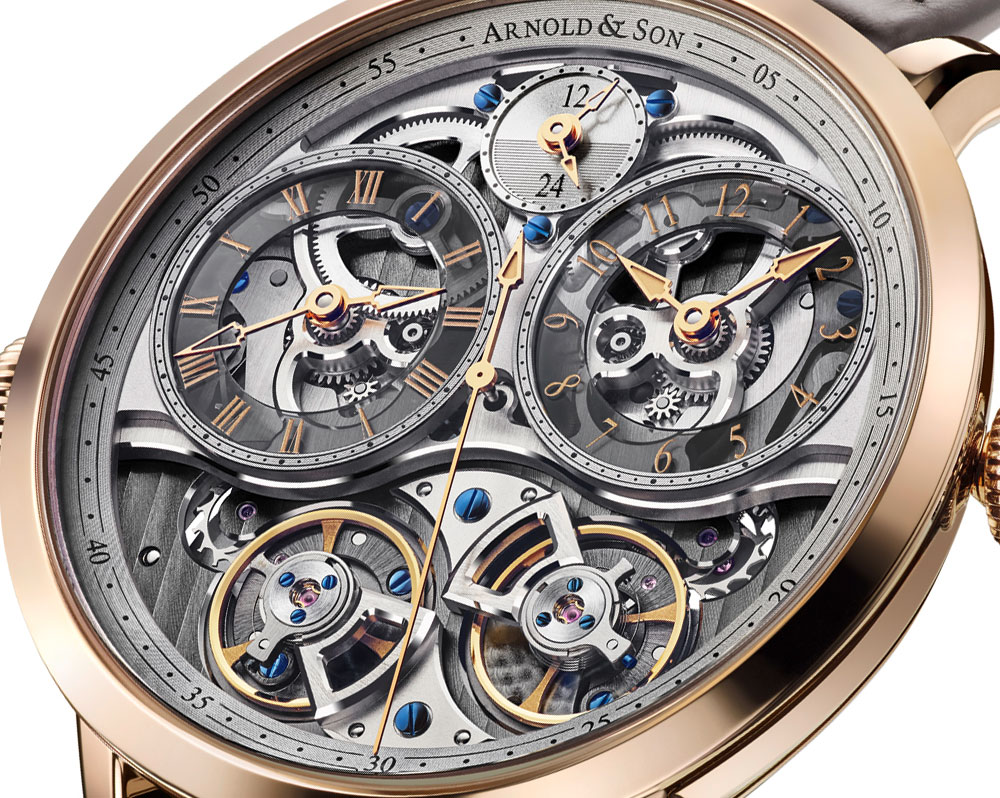 Arnold & Son DBG Skeleton Watch Watch Releases