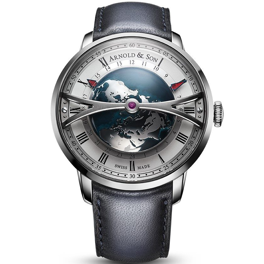 Arnold & Son Globetrotter Worldtimer Watch Watch Releases