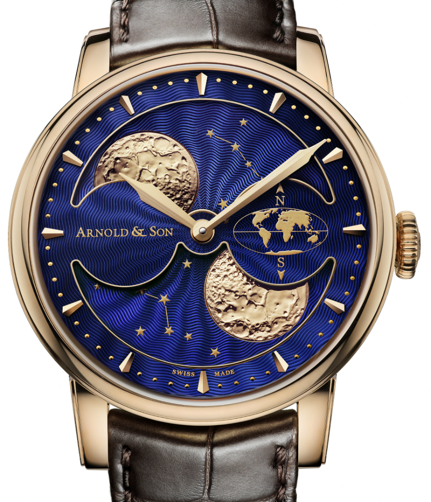 Arnold & Son HM Double Hemisphere Perpetual Moon Watch Watch Releases