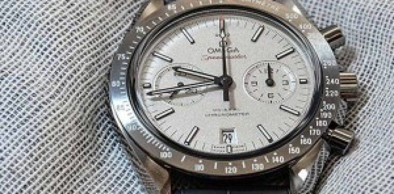 "Cheap Replica Omega Speedmaster Grey Side Of The Moon Co-Axial Chronometer  ""Lunar Dust"""