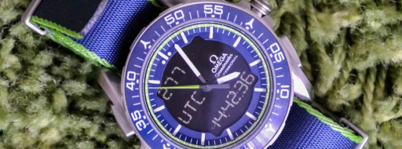 Replica Omega Speedmaster Skywalker X-33 Blue Watch For Sale