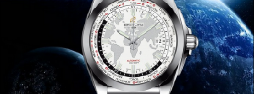 Tasting replica breitling galactic world time zones white dial steel mens watches