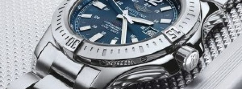 Cheap Breitling Colt Automatic Blue Dial Stainless Steel Men's Watch Replica