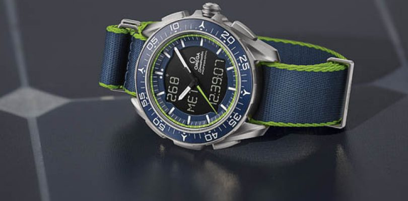 The Omega Speedmaster Skywalker X-33 Solar Impulse Limited Edition Replica Watch