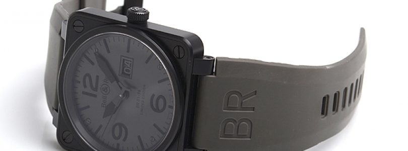 Bell & Ross ref. BR01-96-SAlt Altimeter Limited Edition watch